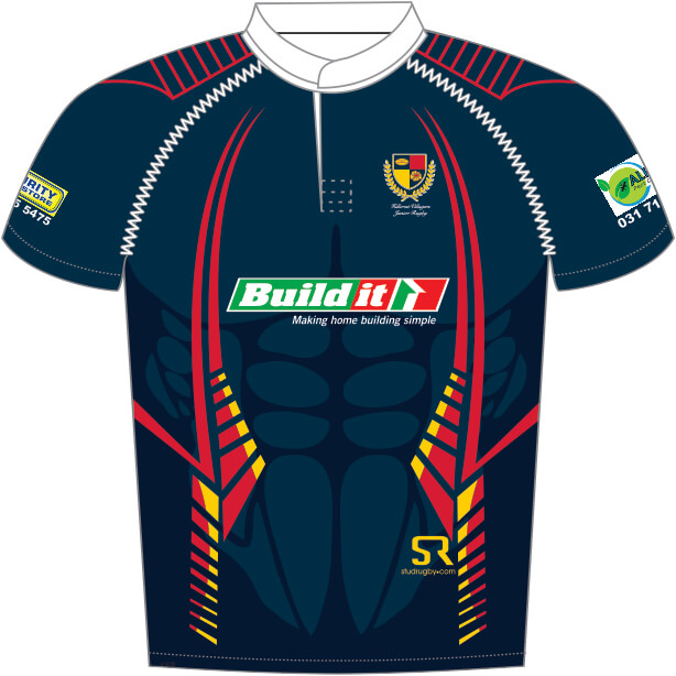 12cdf46e5cf Hillcrest Villagers Rugby Shirt - Stud Rugby Custom Rugby Shirts and ...
