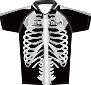 Skeleton Rugby Shirt Design